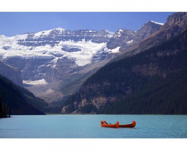 Fototapete Nr. 4004 - Lake Louise Spring