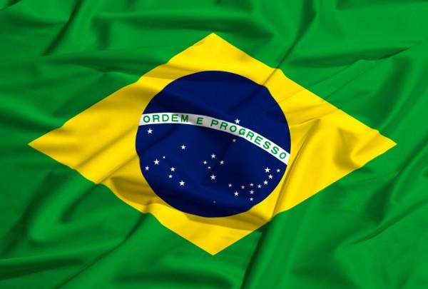 Fototapete Nr. 3164 - Flagge Brasilien
