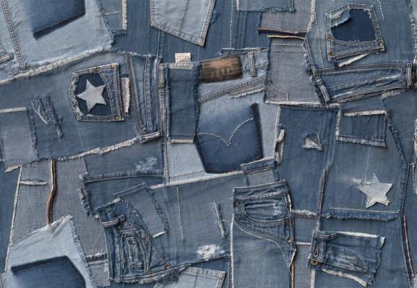 Fototapete Nr. 9855 - Jeans on