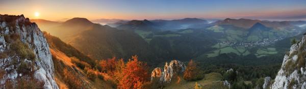 Panoramatapete Nr. 3568 - Mountain View