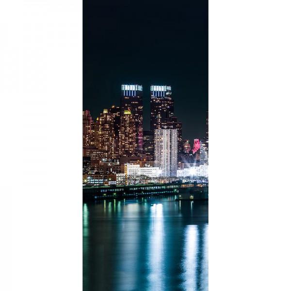 Türtapete Nr. 3562a - N.Y.C. Midtown Skyline