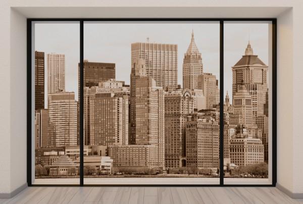 Fototapete Nr. 3709 - Penthouse Manhattan, N.Y.C.