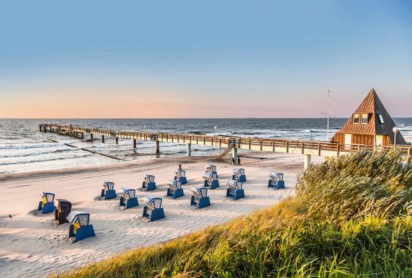 Fototapete Nr. 2931 - Ausblick auf den Strand