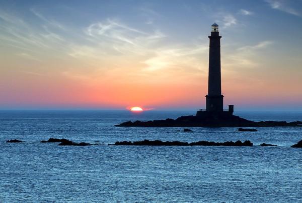 Fototapete Nr. 3294 - Leuchtturm in Brittany, Frankreich
