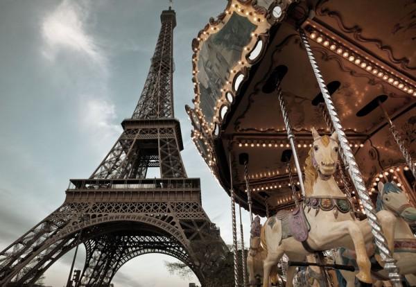 Fototapete Nr. 8885 - Carrousel de Eiffel