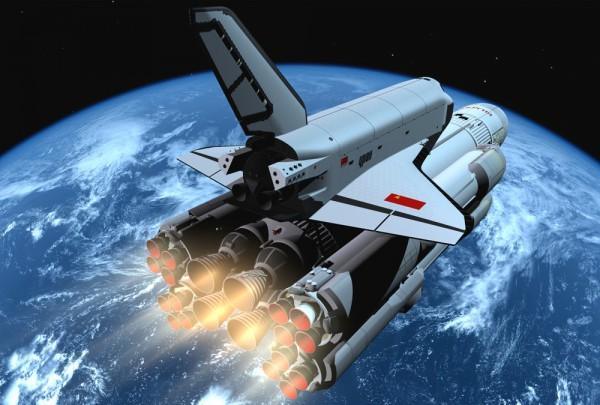 Fototapete Nr. 3587 - Space Ship II