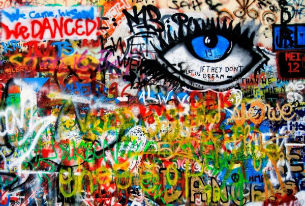 Fototapete Nr. 3485 - Graffiti Eye Catcher