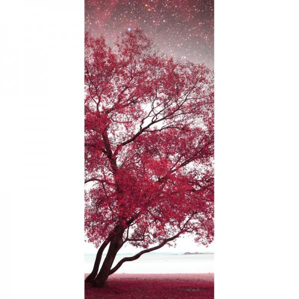 Türtapete Nr. 3144 - Frühlingsnacht infrarot