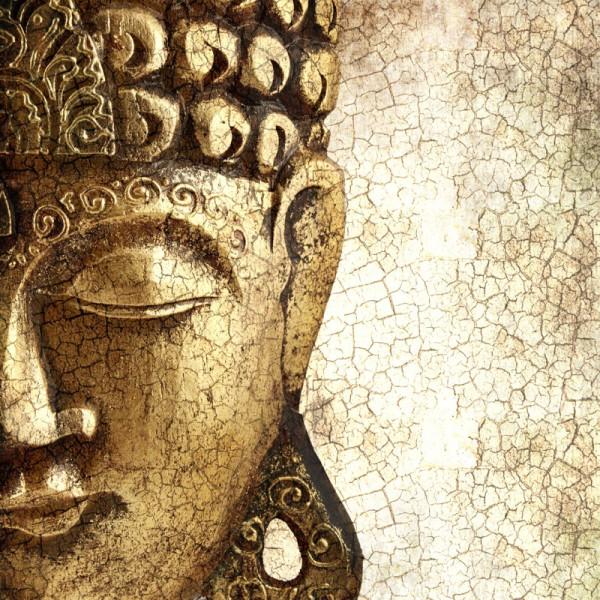 Fototapete Nr. 3413 - Bronce face of Buddha