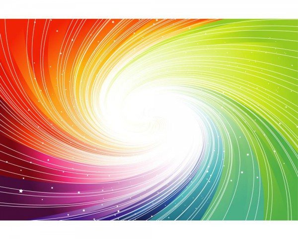 Fototapete Nr. 4023 - Spiralfarben