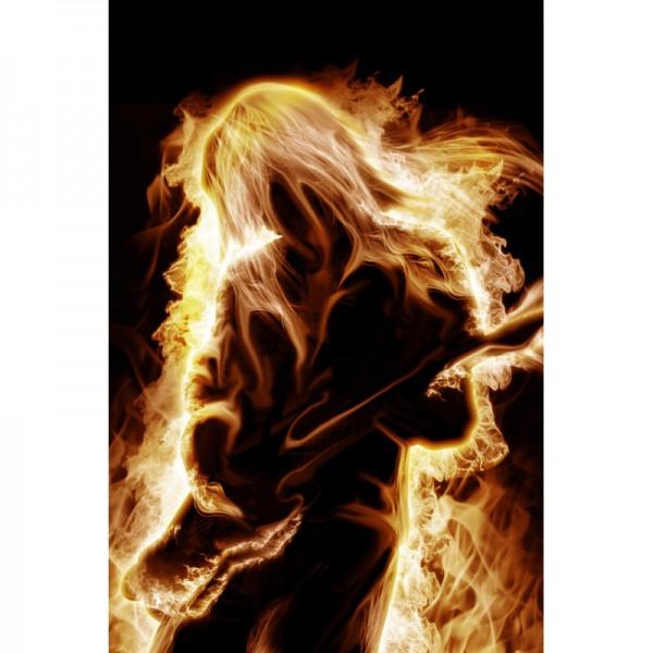 Fototapete Nr. 3523 - Burning musican