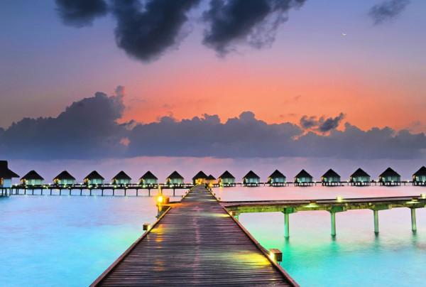Fototapete Nr. 3893 - Bora Bora Sunset