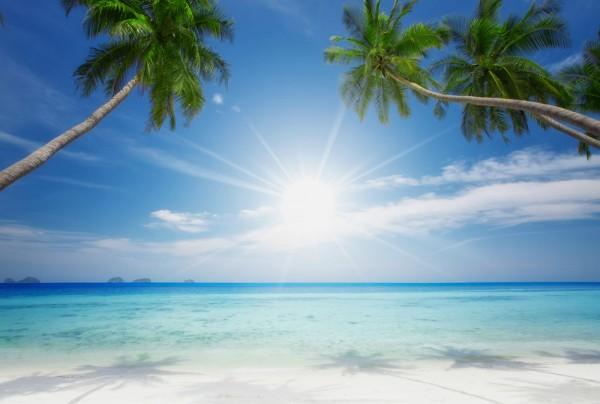 Fototapete Nr. 3789 - Sunny beach