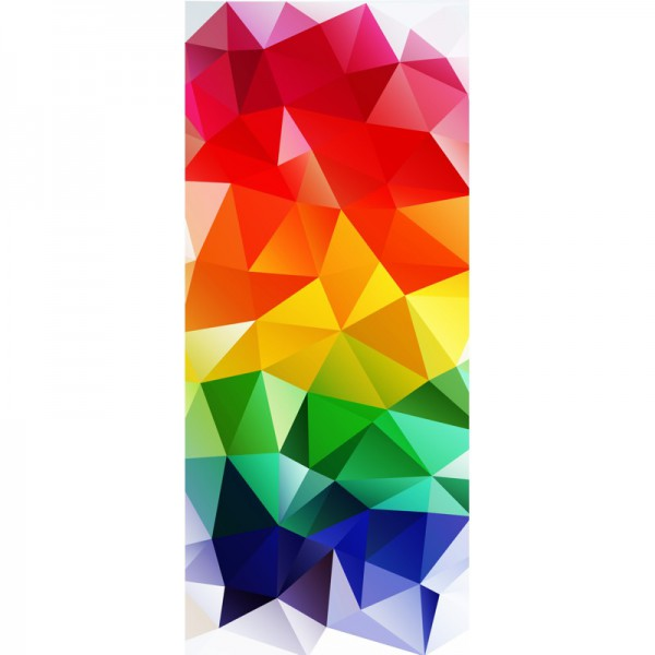 Türtapete Nr. 3357 - Polygons