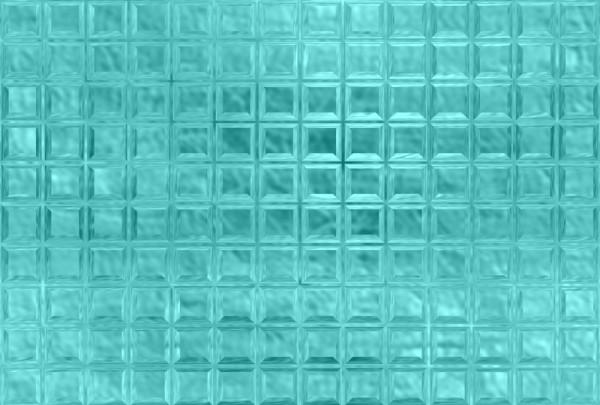 Fototapete Nr. 3570/28 - Glasbausteine cyan
