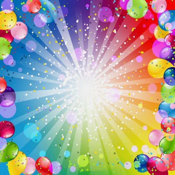 Fototapete Nr. 3550 - Happy Balloons