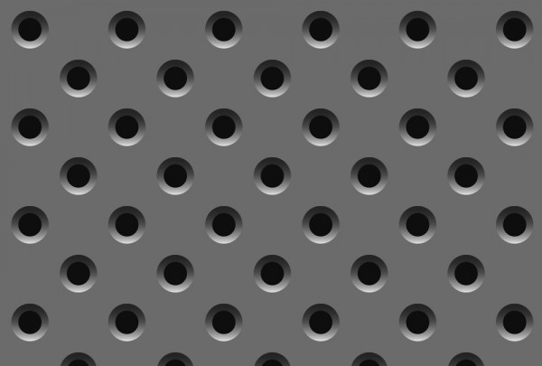 Fototapete Nr. 3471 - Metal Hole Grid