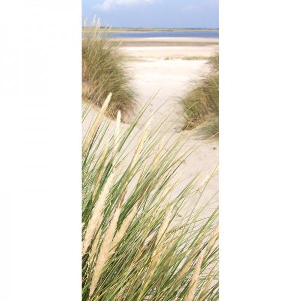 Türtapete Nr. 3296 - Der Weg zum Strand