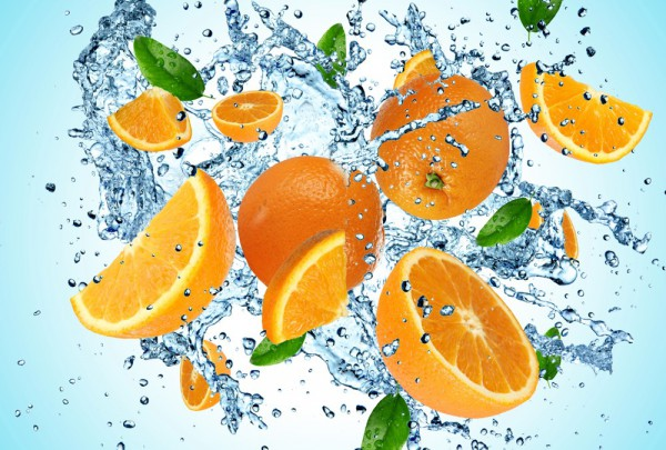Fototapete Nr. 3638 - Orange