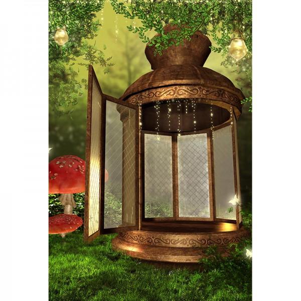 Fototapete Nr. 3746 - Wunderlampe