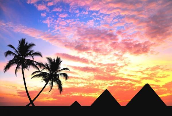 Fototapete Nr. 3320 - Ägyptische Pyramiden