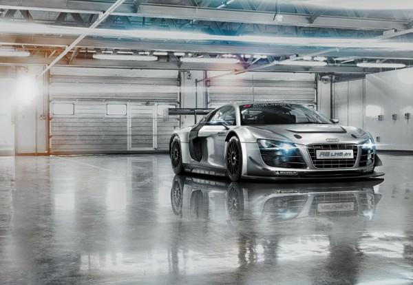 Fototapete Nr. 8545 - Audi R8 Le Mans