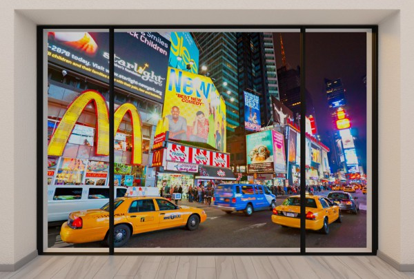 Fototapete Nr. 3707 - Penthouse Times Square, N.Y.C.