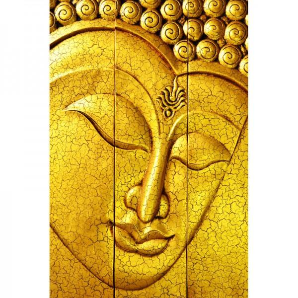 Fototapete Nr. 3415 - Golden face of Buddha