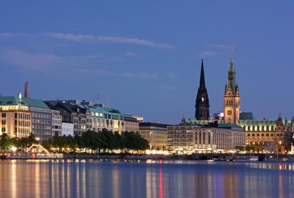 Fototapete Nr. 3653 - Hamburg