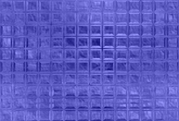 Fototapete Nr. 3570/27 - Glasbausteine blau