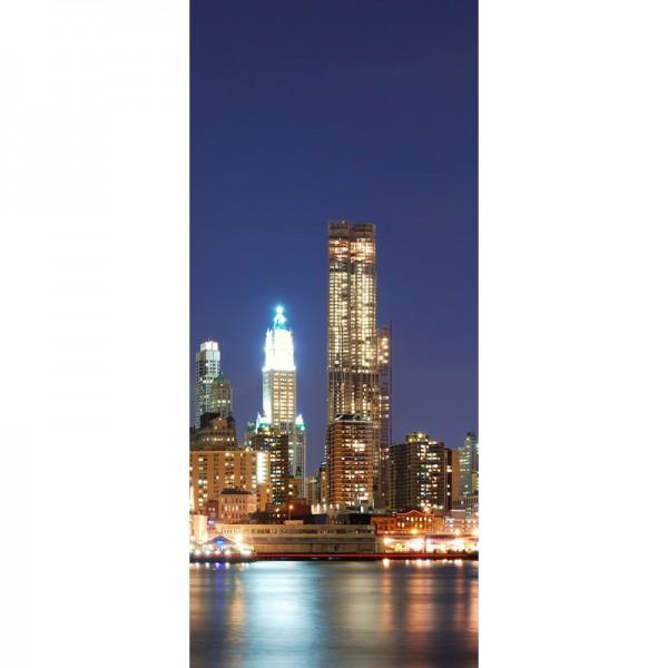 Türtapete Nr. 3561c - N.Y.C. Manhattan Skyline