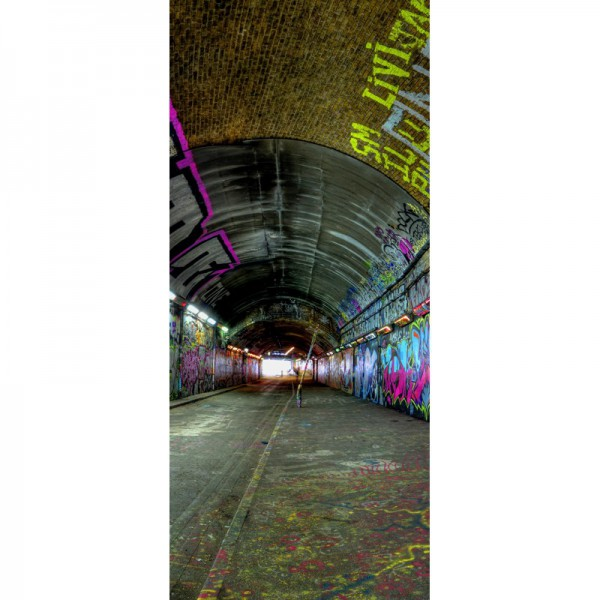 Türtapete Nr. 3487 - Graffiti Tunnel
