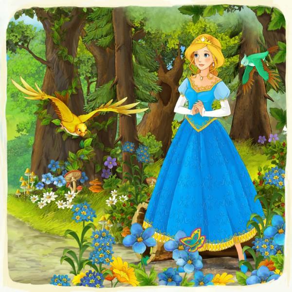 Fototapete Nr. 3548 - Prinzessin Manga