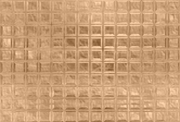 Fototapete Nr. 3570/17 - Glasbausteine hellorange