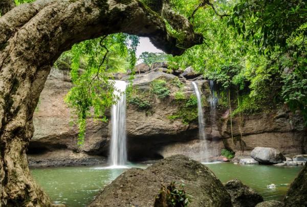 Fototapete Nr. 3127 - Waterfall National Park,Thailand
