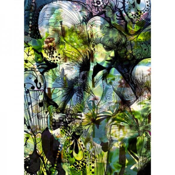 Fototapete Nr. 9850 - Green Aphrodite
