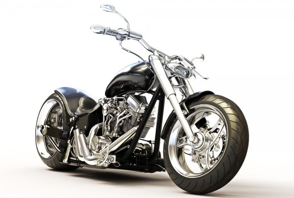 Fototapete Nr. 3217 - Custom bike