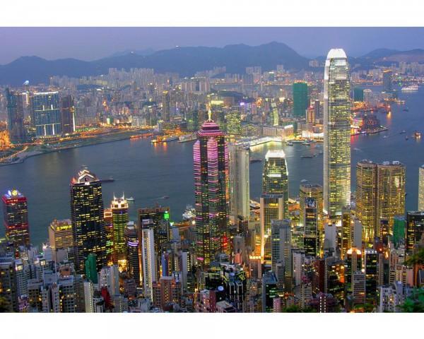 Fototapete Nr. 4012 - Hongkong View