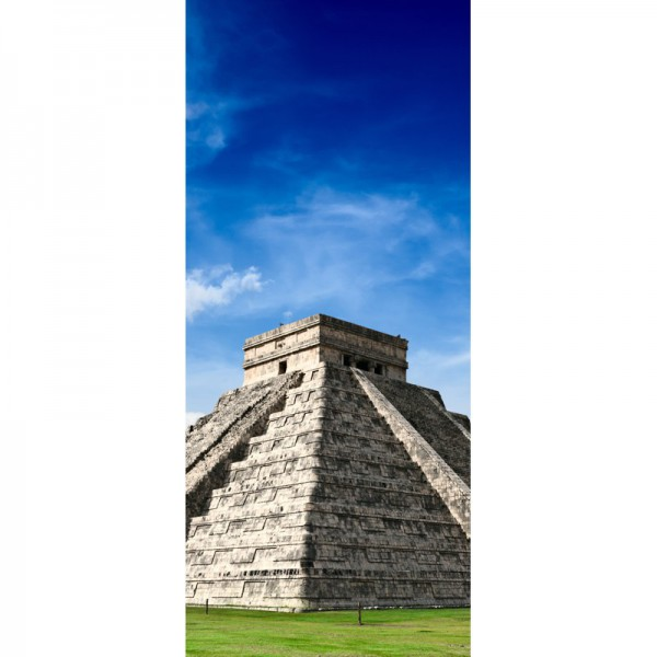 Türtapete Nr. 3321 - Maya Pyramide in Chichen-Itza, Mexico