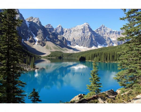 Fototapete Nr. 4000 - Moraine Lake