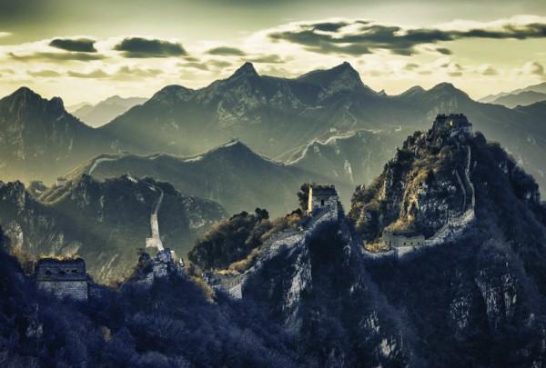 Fototapete Nr. 3958 - Die große Chinesische Mauer