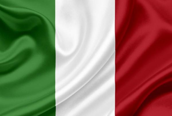 Fototapete Nr. 3159 - Flagge Italien