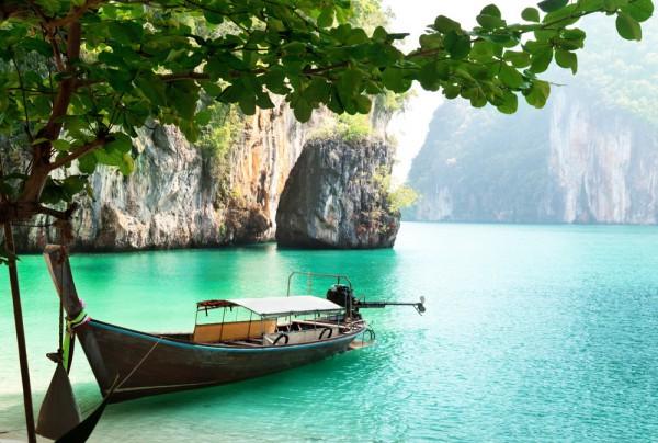 Fototapete Nr. 3890 - Long tail boat, Thailand