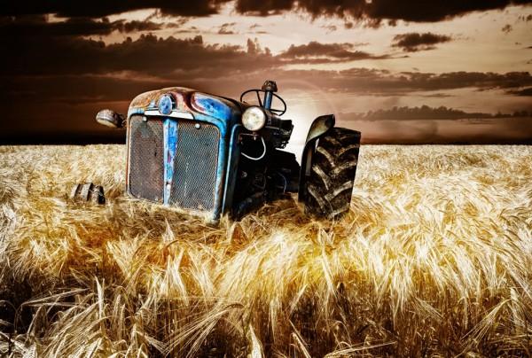 Fototapete Nr. 3516 - Tractor I