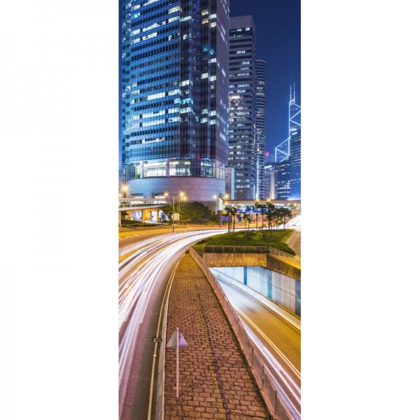 Türtapete Nr. 3444 - Hongkong Traffic
