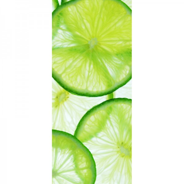 Türtapete Nr. 3095 - Lime slices