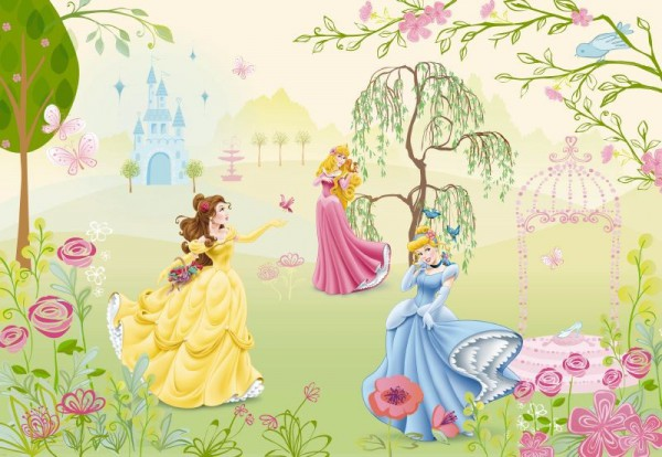 Fototapete Nr. 7915 - Im königlichen Garten