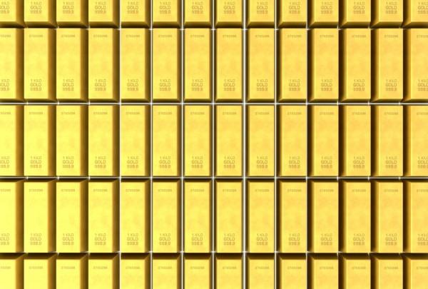 Fototapete Nr. 3941 - Goldbarren II