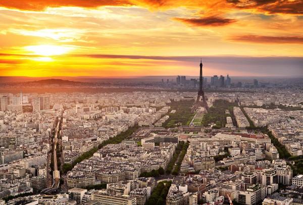 Fototapete Nr. 3781 - Approaching Paris