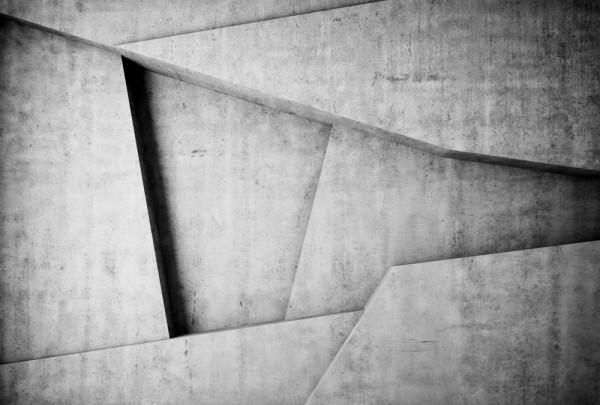 Fototapete Nr. 3498 - Beton - Struktur Triangel